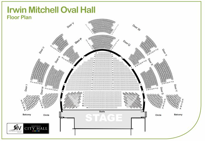 Oval Hall - Sheffield City Hall
