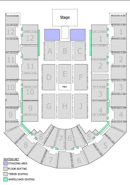 Seating chart barclays arena birmingham for Barclays floor plan