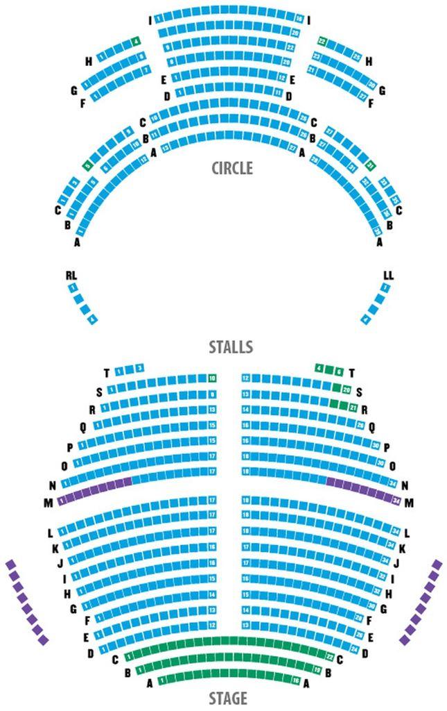 Blackpool Opera House Seating Plan Escortsea