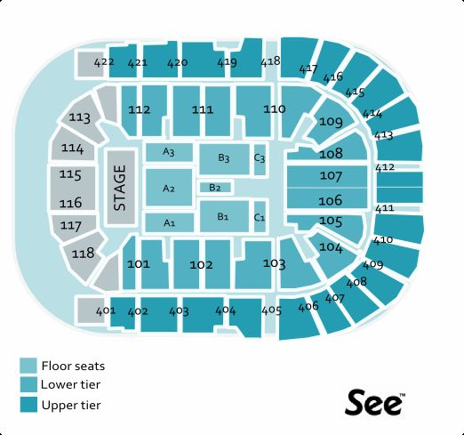 O2 arena seating plan for 02 floor seating