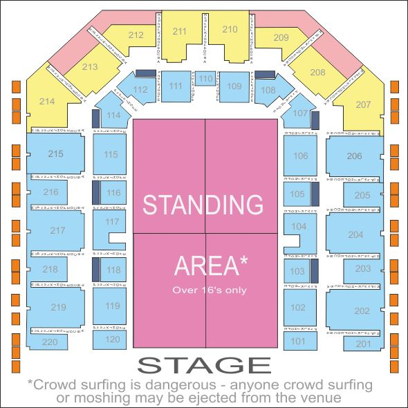 Bic Floor Plan: 22 + Sheffield Arena Little Mix Seating Plan Worry