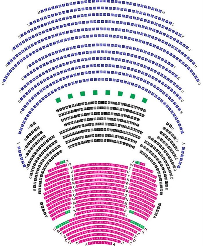Print This Seating Plan Lyric Theatre The Lowry