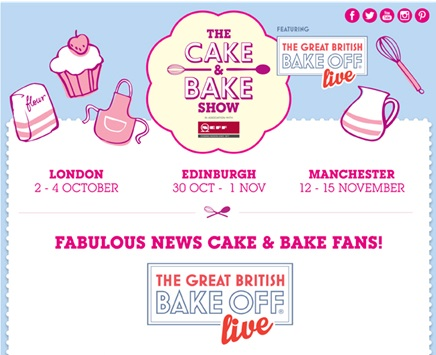 See Tickets Cake And Bake Show