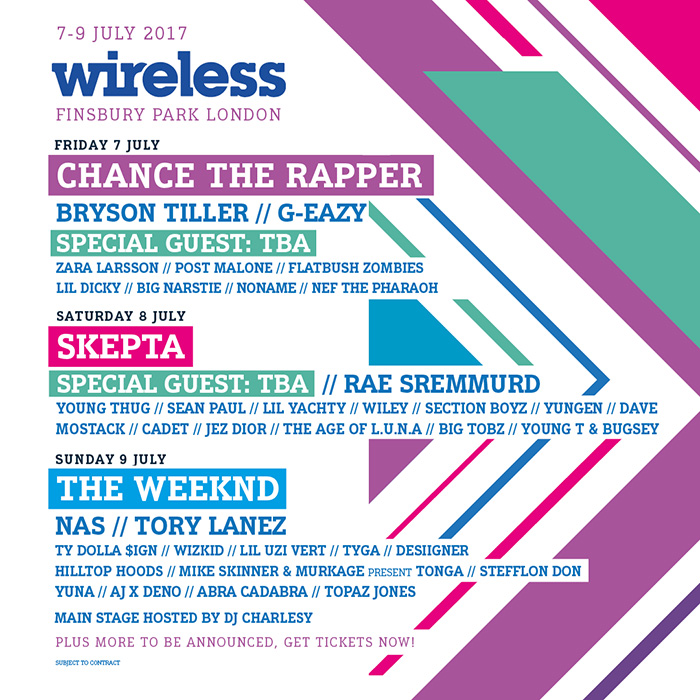 Wireless Festival Tickets