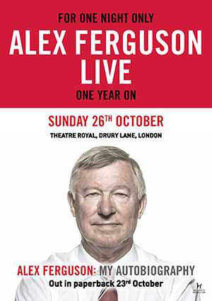 Alex Ferguson Live Tickets
