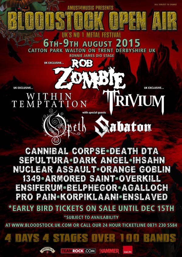 Bloodstock 2015 Tickets