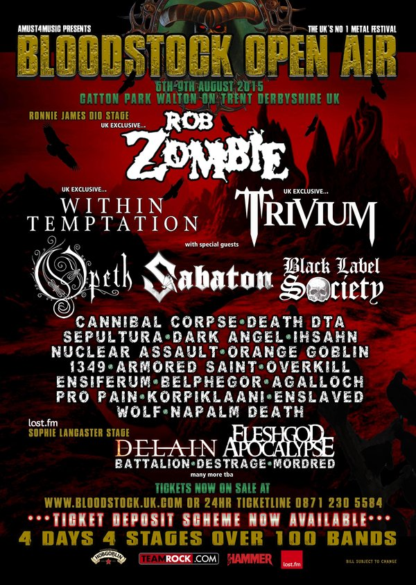 Bloodstock 2015 Tickets