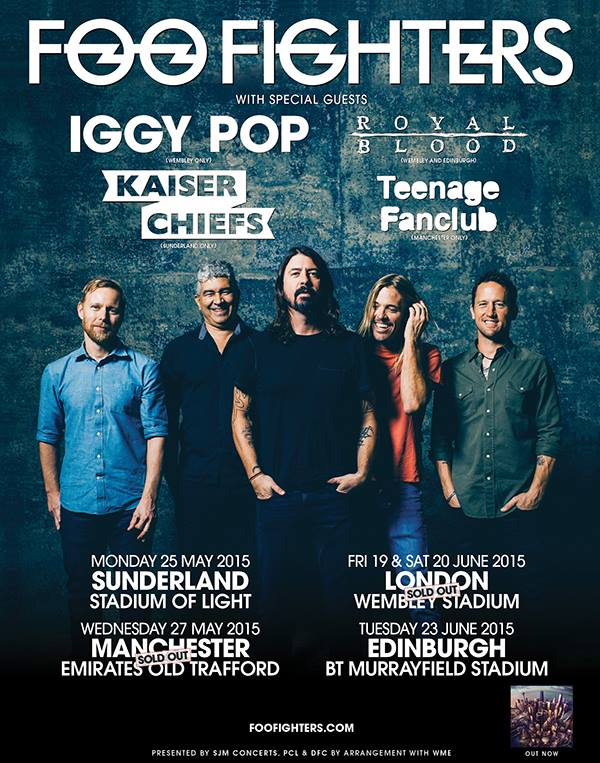 Foo Fighters Tour Uk  Support