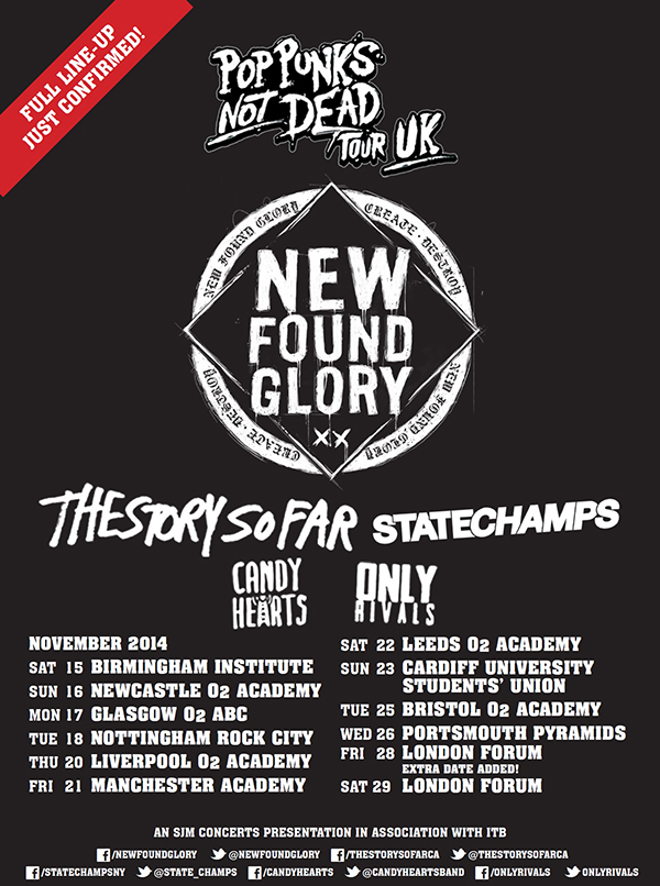 New Found Glory Tickets