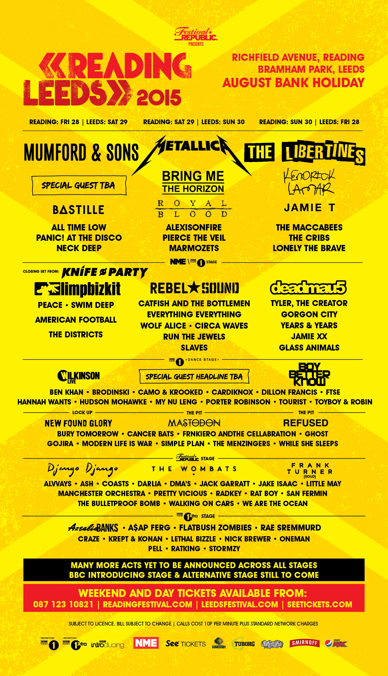 Alexisonfire announced for reading leeds 2015 see tickets for Soil tour dates 2015