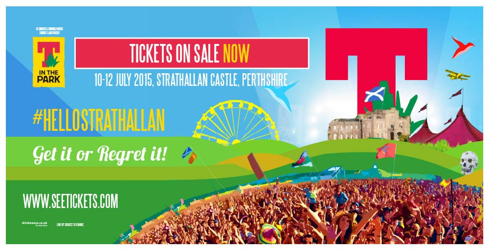 T in the Park 2015 Tickets