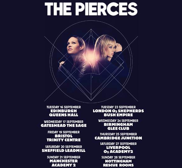 The Pierces Tickets