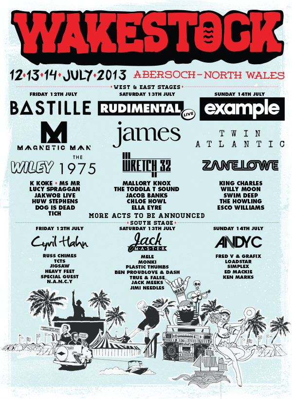 Wakestock Tickets