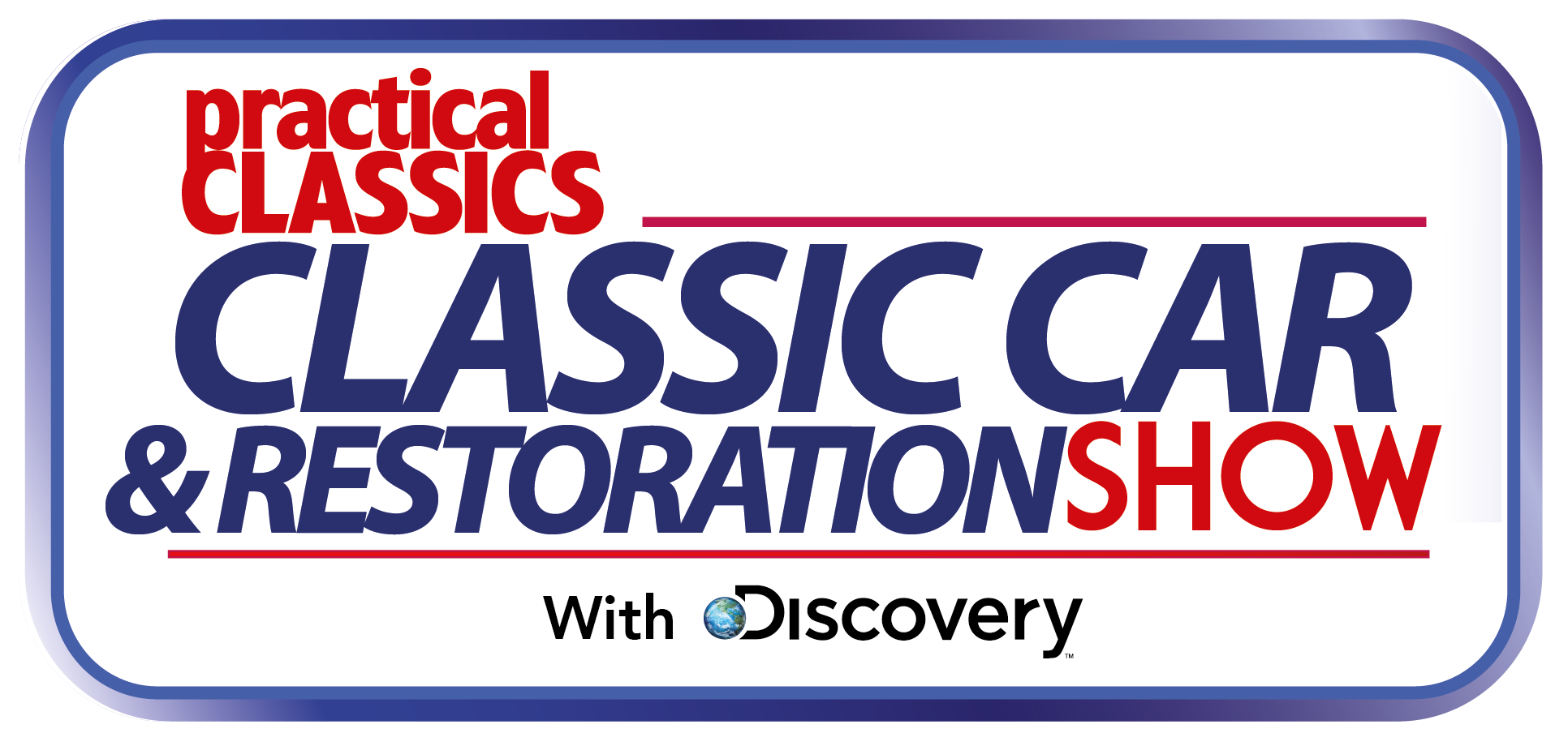 practical car restoration show logo
