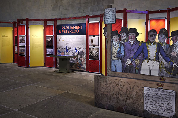 Parliament & Peterloo exhibition (free)