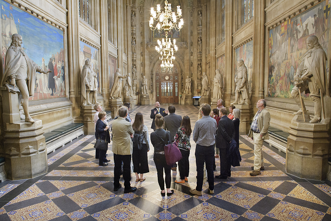English guided tours