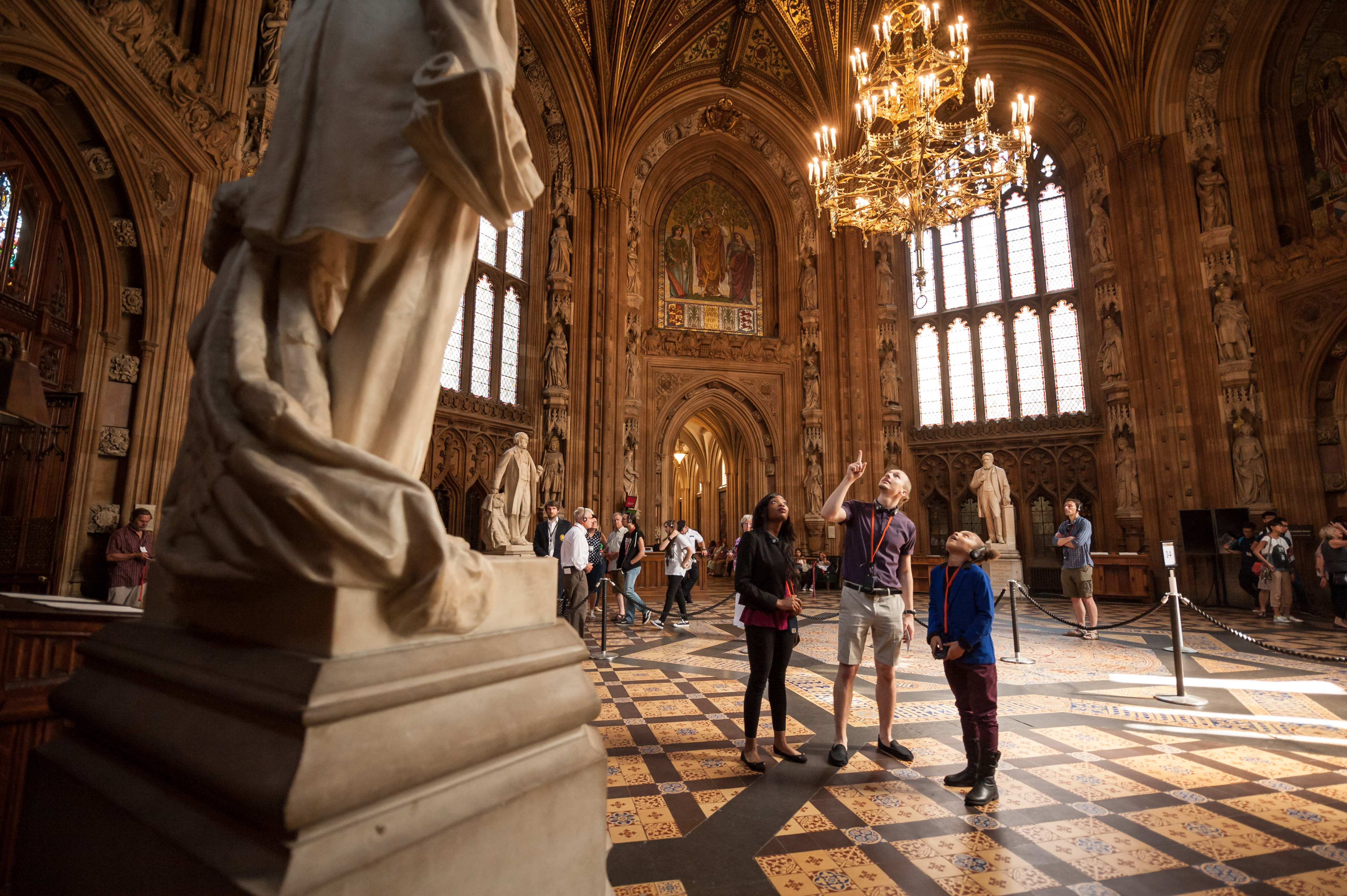 Multimedia tour of the Palace of Westminster