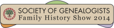 The Society of Genealogists logo