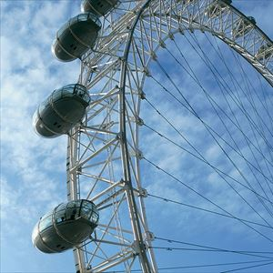 1 Day Hop-on Hop-off Bus Ticket + The Coca-Cola London Eye