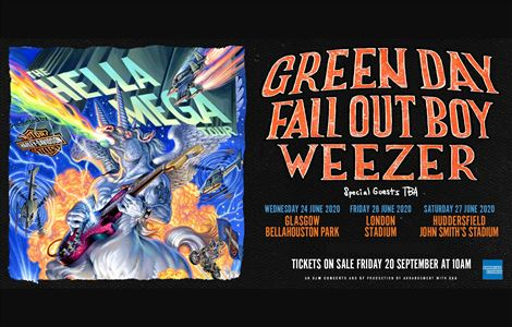 See Tickets | Supergrass, The Hella Mega Tour, Jake Bugg