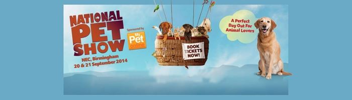30% off tickets at The National Pet Show
