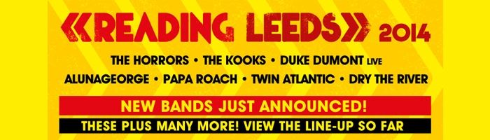 52 new acts for Reading & Leeds 2014
