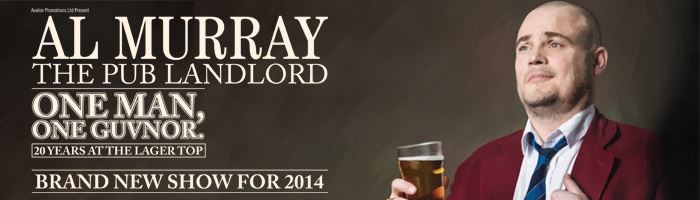Al Murray Pre-Sale now open