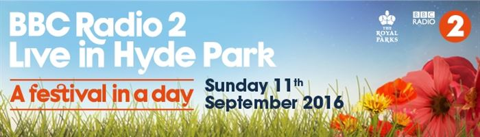 BBC Radio 2 Live in Hyde Park on sale now