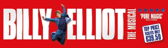 Billy Elliot The Musical save up to 40%