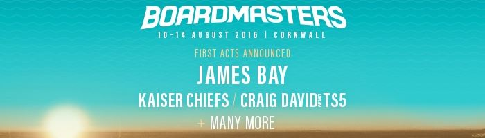 Boardmasters announce first wave of acts for 2016!