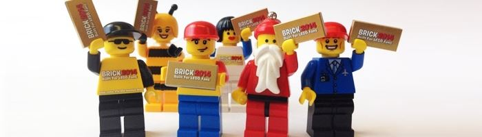 BRICK 2014: Built for LEGO fans.