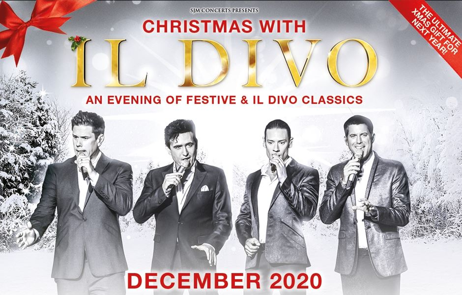 Il Divo Christmas Concert December 2020 CHRISTMAS WITH IL DIVO DECEMBER 2020 UK TOUR ANNOUNCED   Gigs And