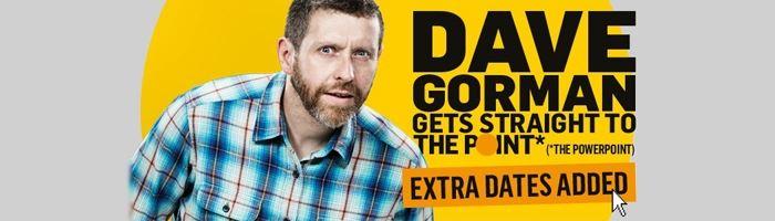 Dave Gorman Pre-Sale