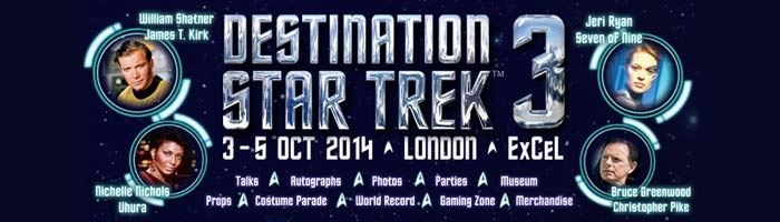Destination Star Trek 3 returns!