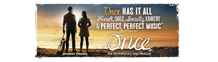 Don't miss Ronan Keating in Once from 17th November