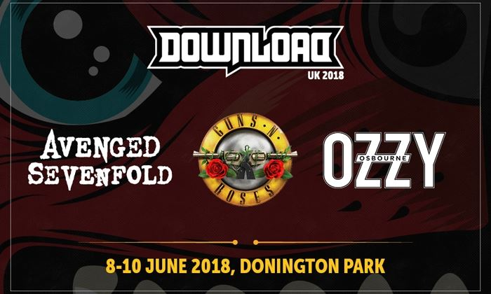 Download Festival 2018 - See Tickets
