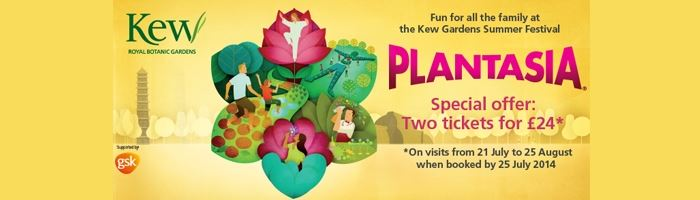 EXCLUSIVE OFFER for Kew Gardens Summer Festival