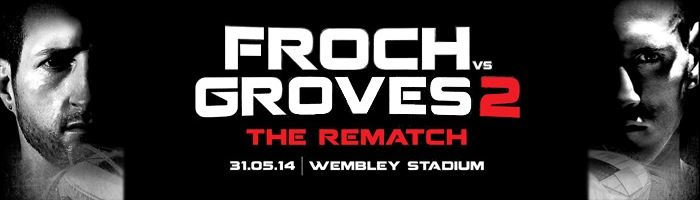 Extra Froch v Groves 2 tickets on sale