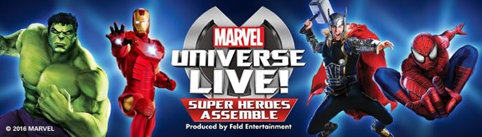 Extra Marvel Universe LIVE! shows on sale