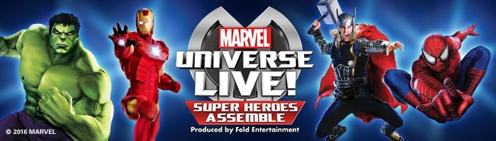 Extra Marvel Universe LIVE! shows on sale NOW