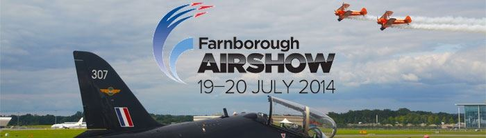 Farnborough Airshow 2014 lands this weekend!