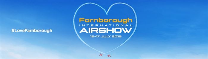 Farnborough Int. Airshow is this weekend!