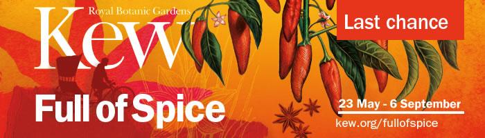 Full of Spice Festival at Kew Gardens