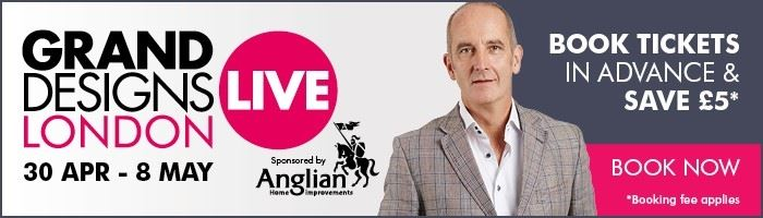 Grand Designs Live is now open!