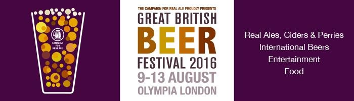 Great British Beer Festival 2016