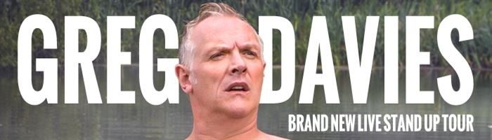 Greg Davies to tour the UK in 2017!