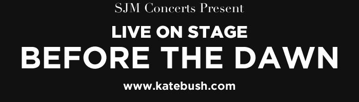 Kate Bush live dates!