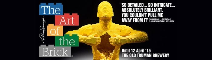 Last chance to see The Art of the Brick!