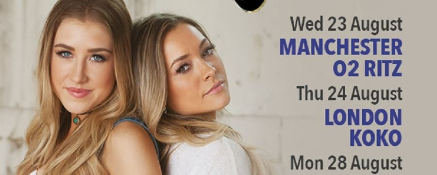 MADDIE & TAE ANNOUNCE UK TOUR FOR AUGUST 2017