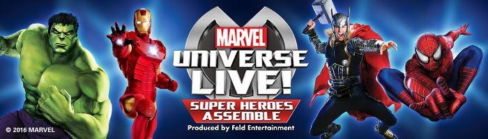 Marvel Universe LIVE! Super Heroes Assemble